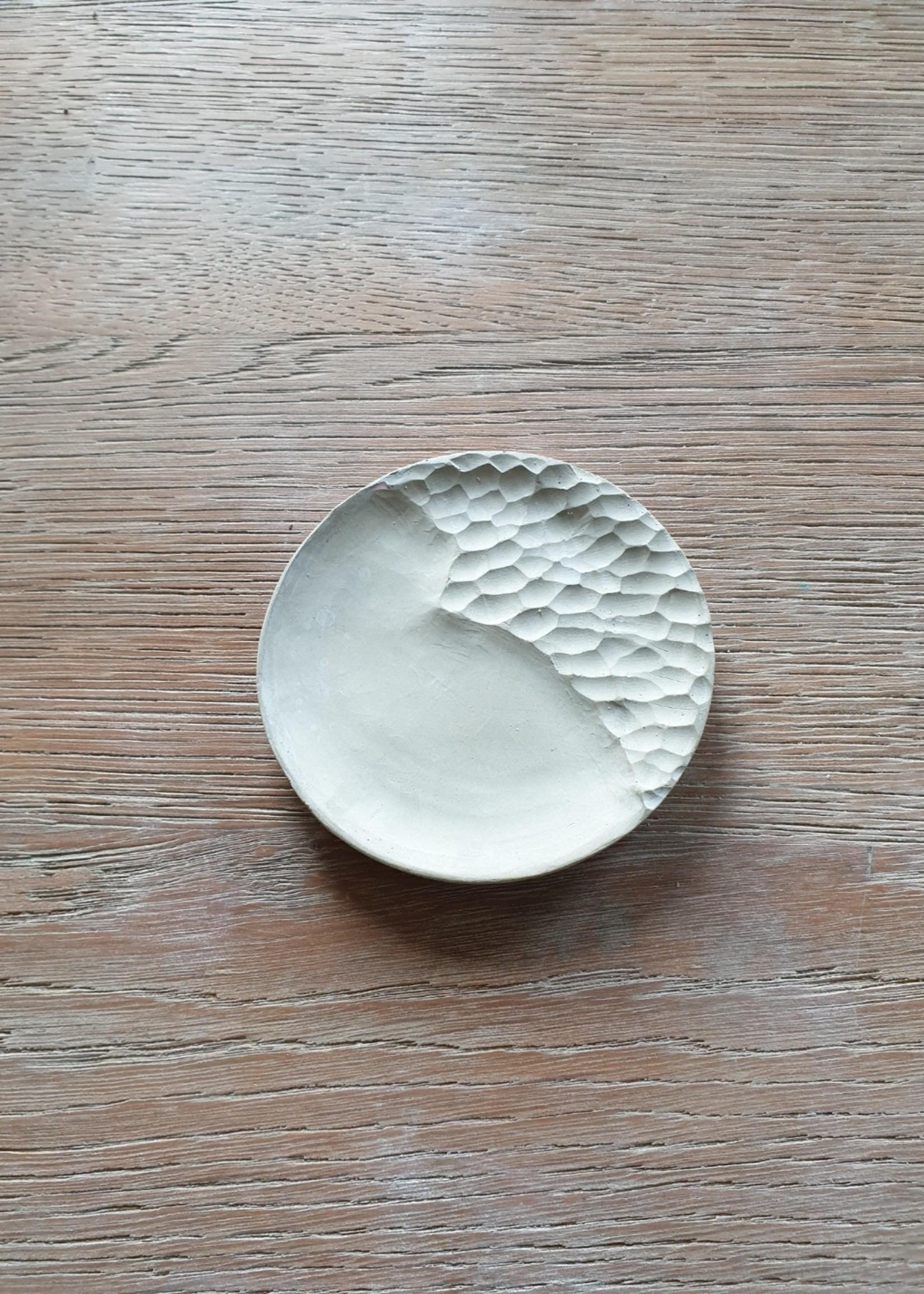 Rond betonnen schaaltje  - Nordic Style