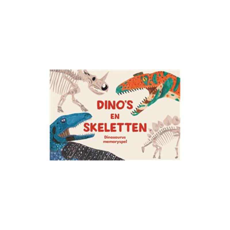 Dino's en skeletten memoryspel