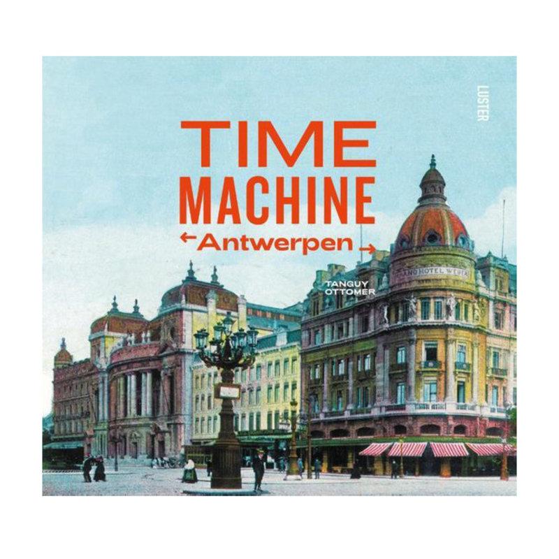 Time machine antwerpen het boek