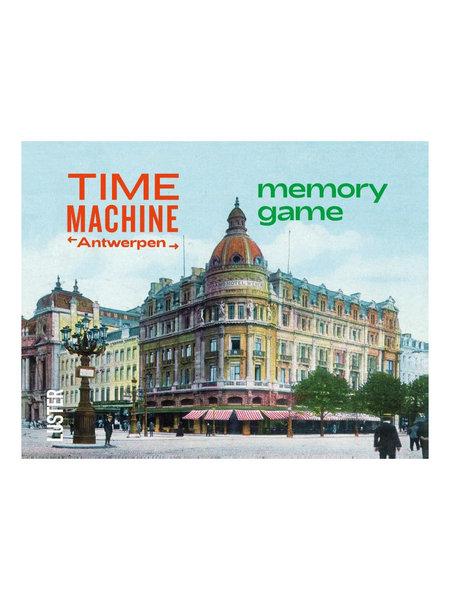 Time machine Antwerpen memory spel