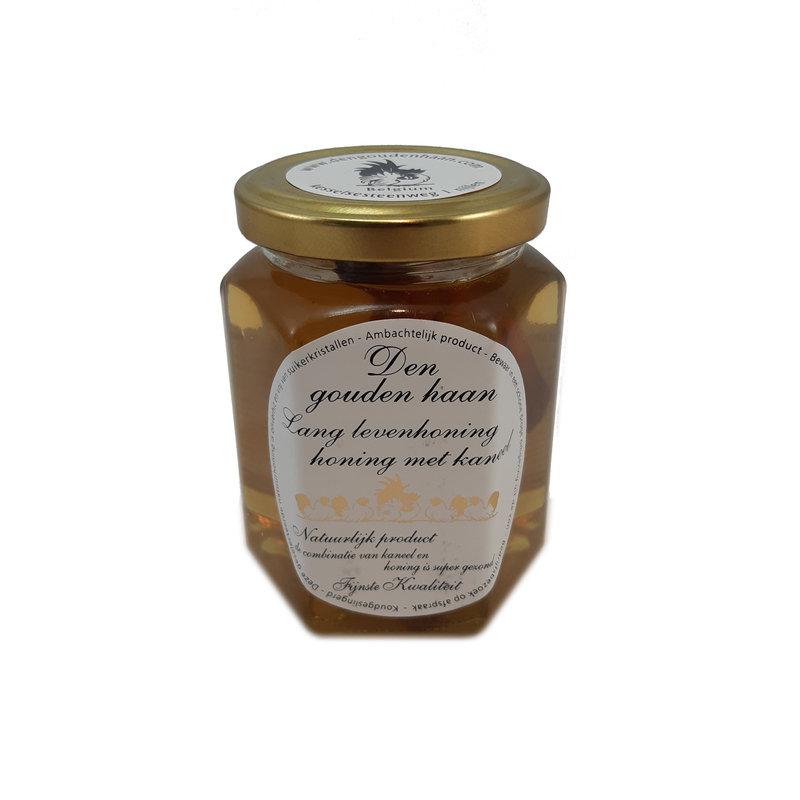 Den Gouden Haan Lang leven honing met kaneel
