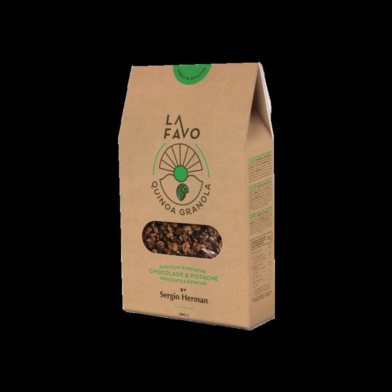 La Favo & Sergio Herman Granola chocolade en pistache