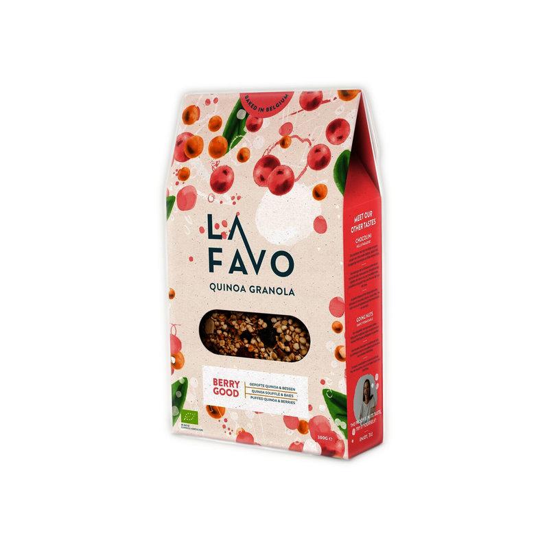 La Favo Biologische quinoa granola berry good