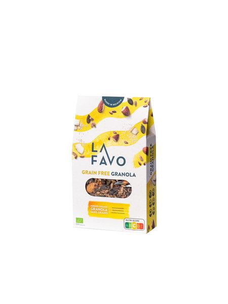 La Favo Biologische quinoa granola graanvrij - kokos & amandel