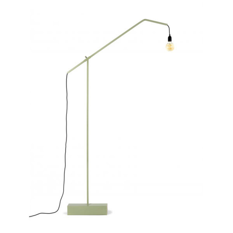 Marianne De Cock Staande lamp L groen 120x10 h182 cm