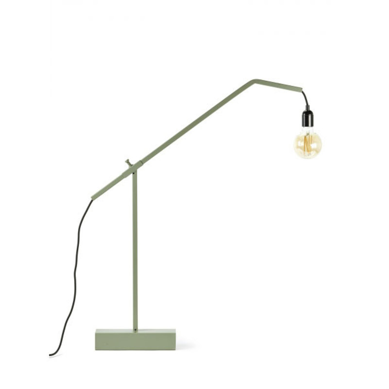 Marianne De Cock Tafellamp S groen 79x6 h79 cm