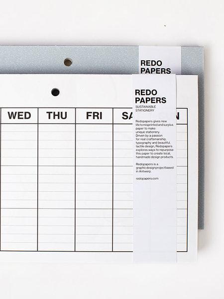 Redopapers Weekplanner