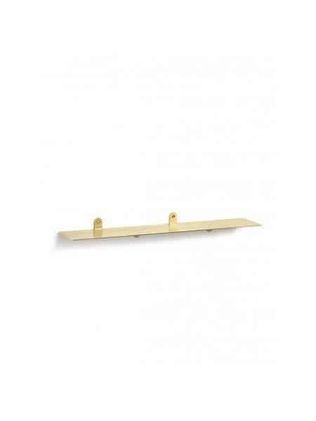 Muller Van Severen Shelf N°1 brass wandplank messing 75x15cm