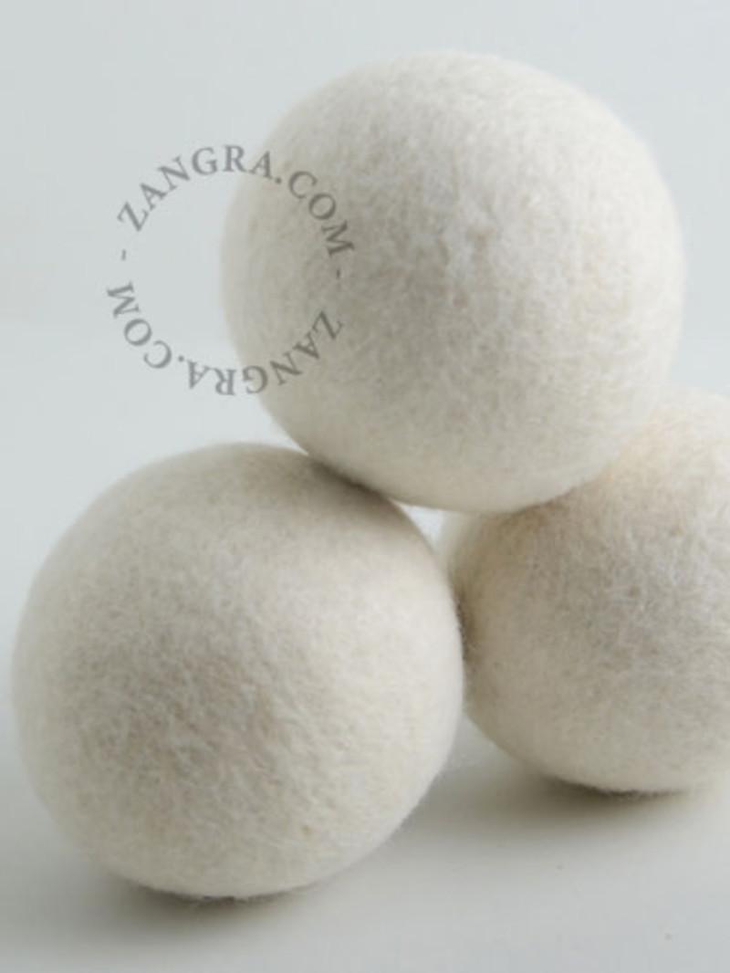 Zangra Wollen wasdroogballen set van drie