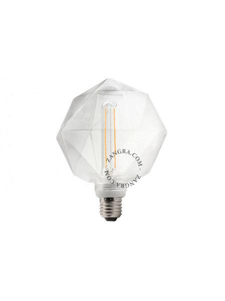 Zangra Lightbulb.lf.011.01.135 kooldraad LED lamp – 'quartz' helder glas