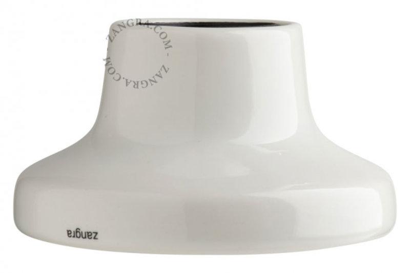 Zangra Lamp wit porselein 001