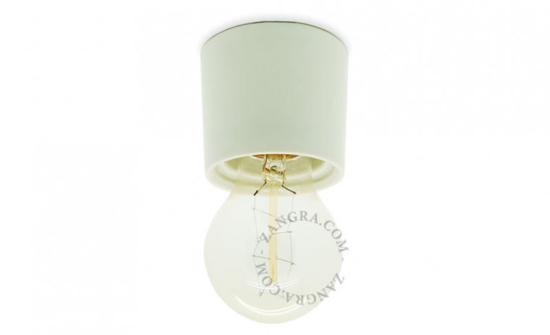 Zangra Lamp porselein wit 003
