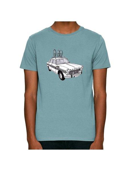 The Vandal Bio T-shirt peugeot team car citadelblauw