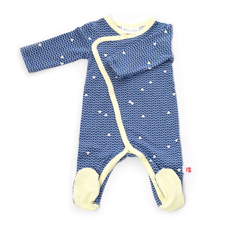 Froy&Dind Jumpsuit with feet helsinki biokatoen