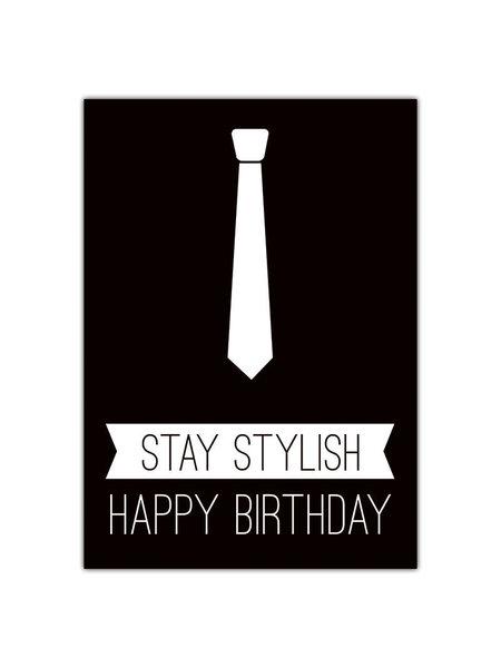 Atelier Papier Stay stylish happy birthday