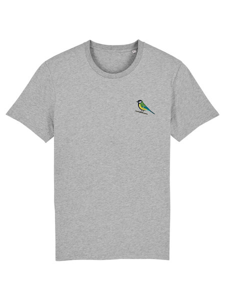 Oizeau Bio T-shirt lichtgrijs