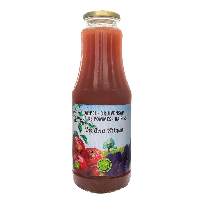 De Drie Wilgen Bio appel-druivensap 75cl
