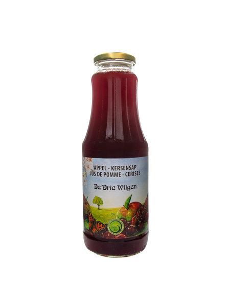 De Drie Wilgen Bio appel-kersensap 75cl