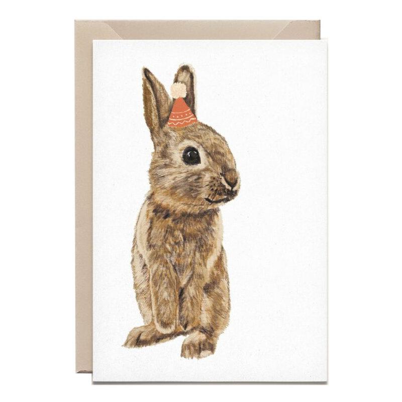 Kathings Wenskaart little rabbit