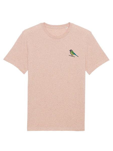 Oizeau Bio T-shirt  koolmees oudrose melange