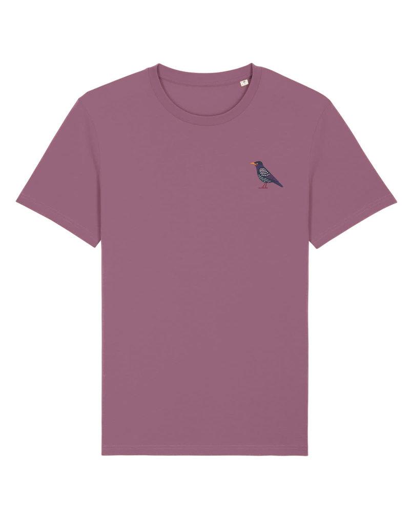Oizeau Bio T-shirt spreeuw mauve