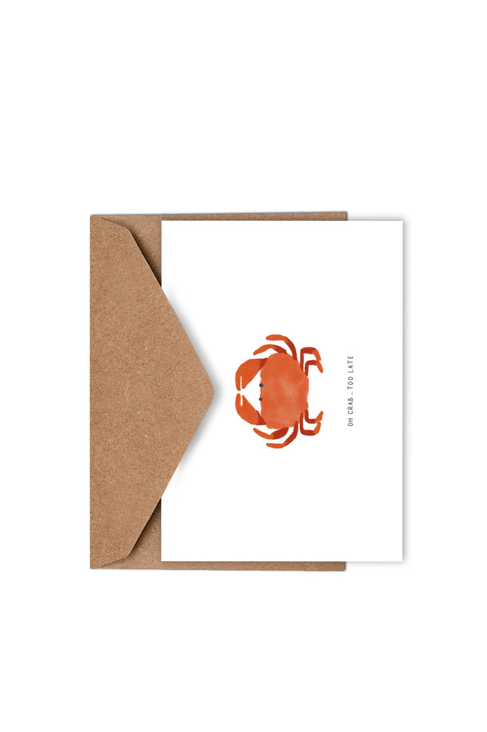 Studio Kathan Oh crab too late