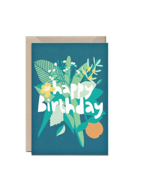 Kathings Wenskaart happy birthday