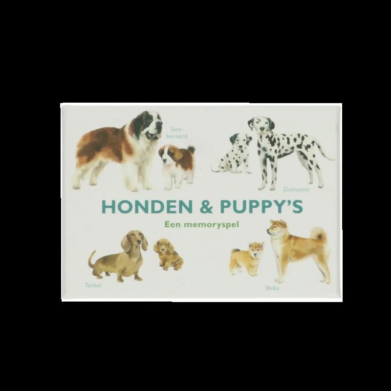 Honden & puppy's memoryspel