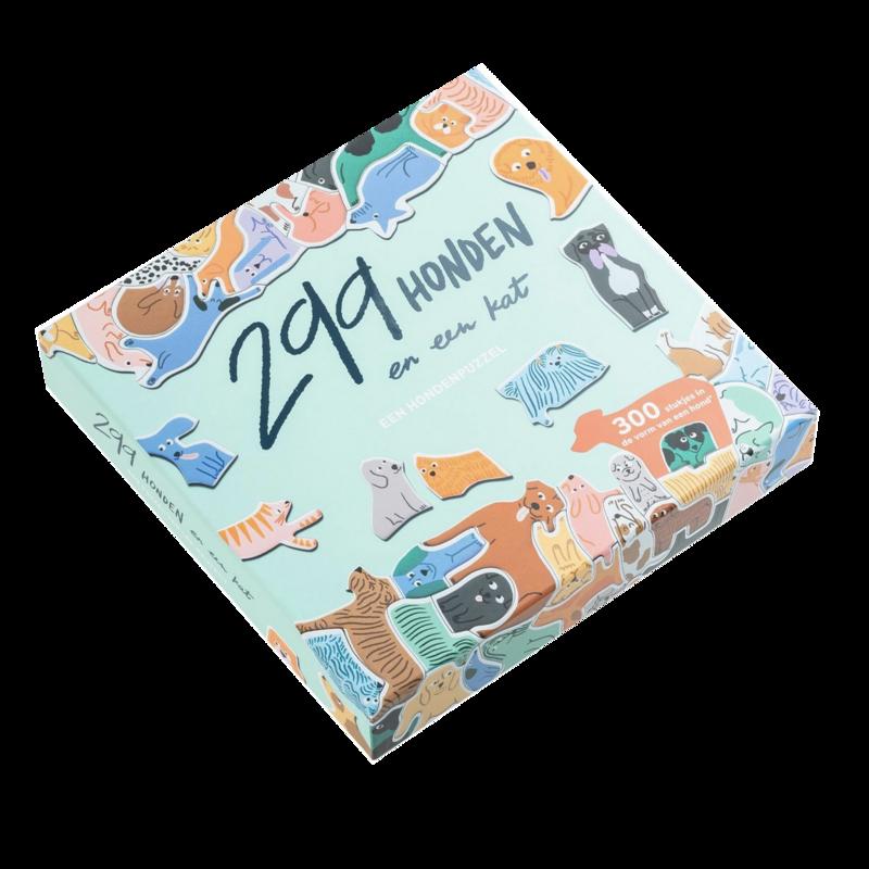 299 honden en een kat puzzel
