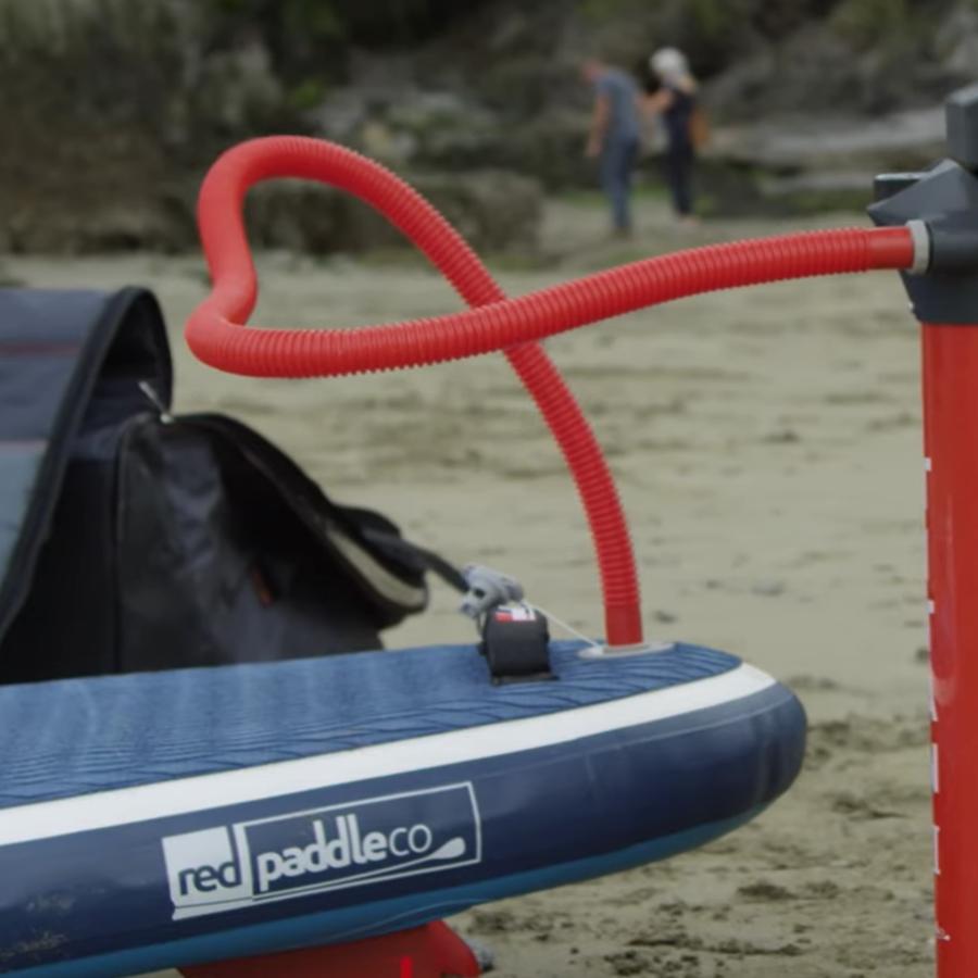 Hvordan sette opp og pakke sammen ditt RedPaddle brett