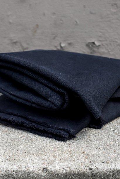 Heavy Washed Canvas 17 oz - Black