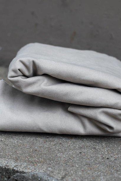 Heavy Washed Canvas 17 oz - Grey Mist