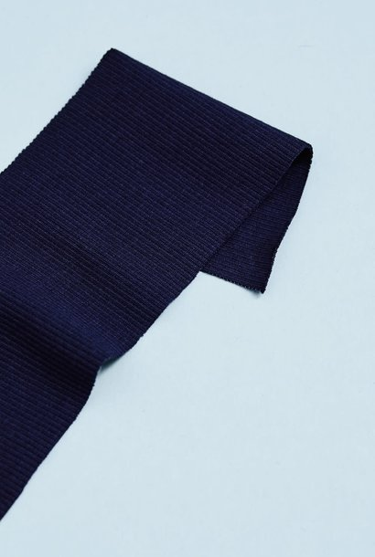 Organic Rib GOTS - Navy Blue
