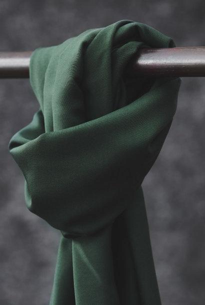 Smooth Drape Twill - Deep Green