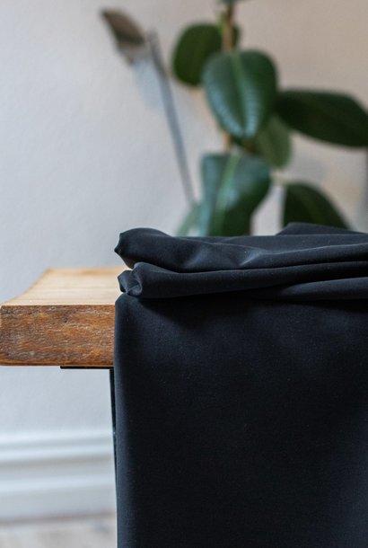 Soft Stretch Twill - Black