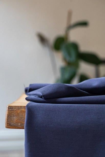 Soft Stretch Twill - Blueberry