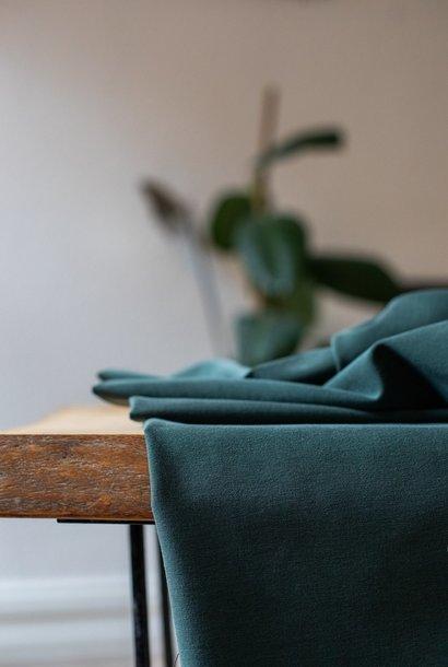Soft Stretch Twill - Deep Green