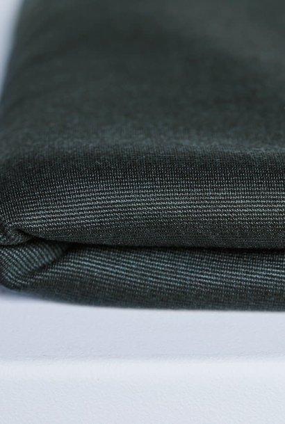 Textured Ponte - Deep Green