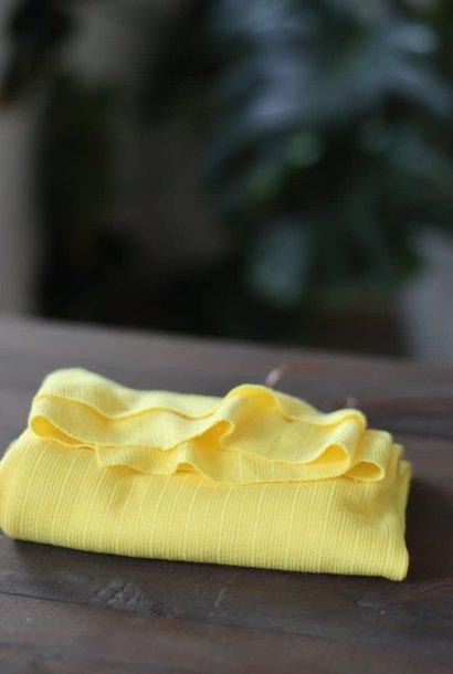 Trim Knit Viscose - Flashing Yellow