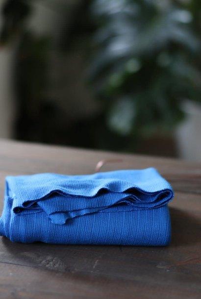 Trim Knit Viscose - Intense Blue