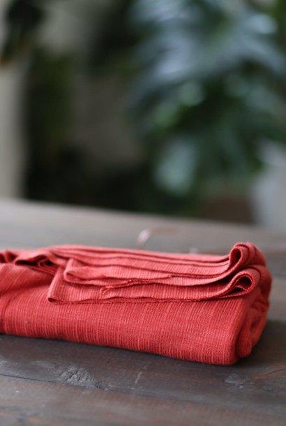 Trim Knit Viscose - Russet Red