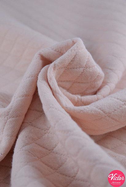 Sweater (matelassé) - Lichtroze