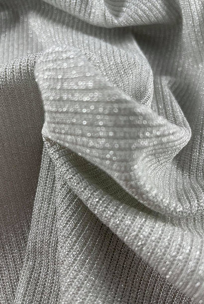 Knit - Silver (lurex)