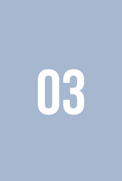 Boordstof - Cashmere Blue