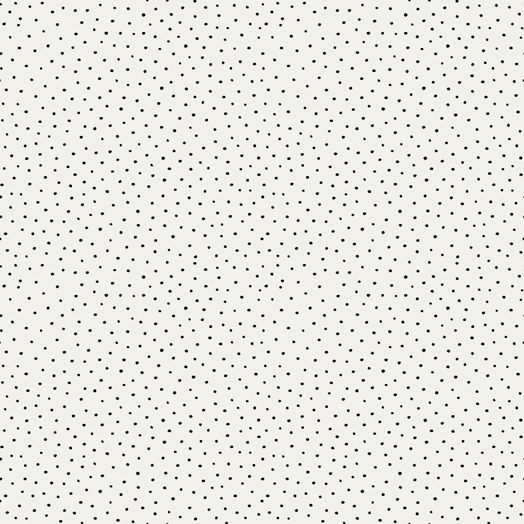 Cotton Slub - Washed Dots - Ecru-1