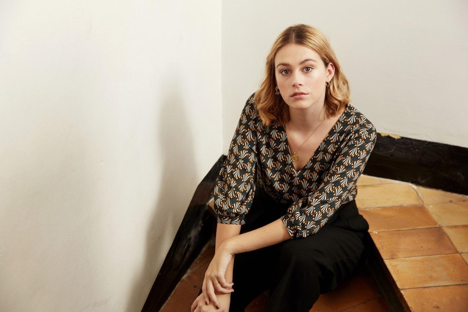 Zoey - Elegante blouse-7
