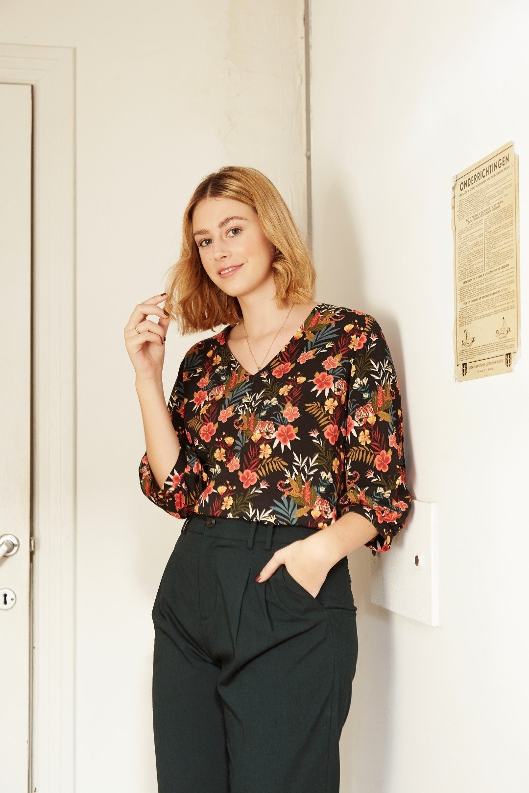 Zoey - Elegante blouse-8