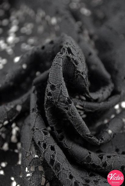 Broderie - Zwart