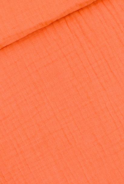 Double Gauze - Persimmon Oranje