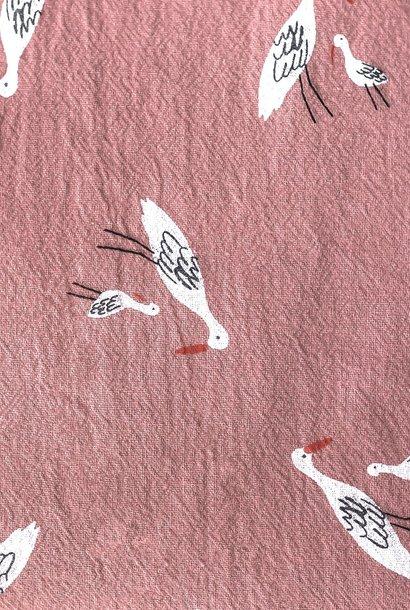 Rustieke Katoen - Salinas Birds Quartz